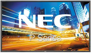 NEC-P-series-touchscreen